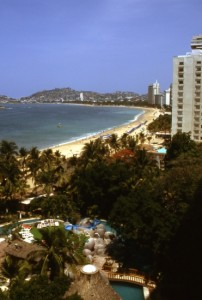 Acapulco, Mexico's first major resort. Photograph by Tony Burton. All rights reserved.