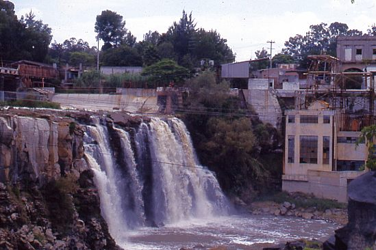 Juanacatlán Falls in 1989. Photo: Tony Burton. All rights reserved.