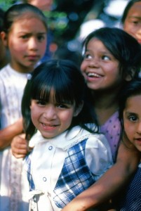 Children in Zitácuaro, Michoacán. Photo: Tony Burton. All rights reserved.