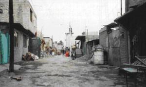 A colonia popular in Mexico