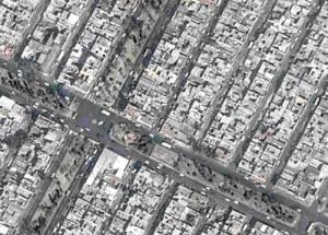"Street plan of a ""colonia popular"""
