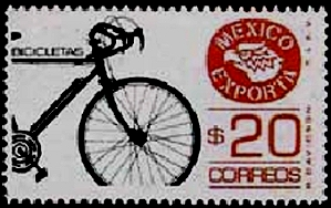 Stamp of Bike exports