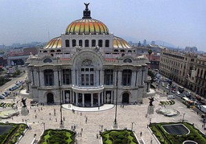 Bellas Artes opera house, Mexico City
