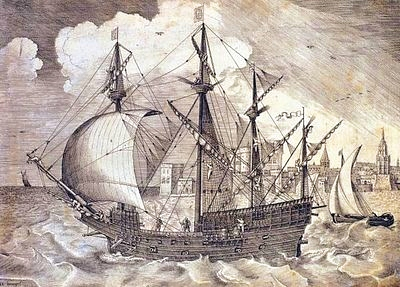 The Nao de China galleon
