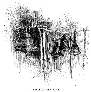 The Bells of San Blas, the illustration that sparked Longfellow's poetic imagination.
