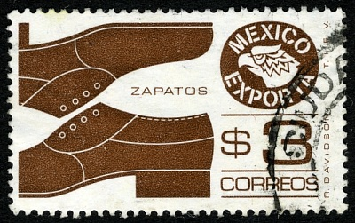Mexico exports: shoes