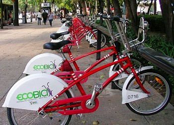 Ecobici bike rack