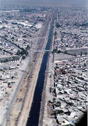 Canal de la Compañia, Chimalhuacán