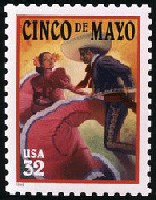 US stamp for Cinco de Mayo