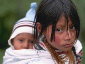 Indigenous children in Mexico