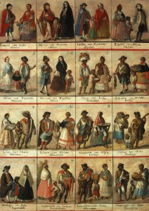 Racial classification in colonial times