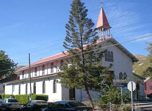 The church of Santa Rosalía