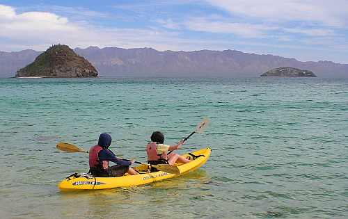 Paddling to an ecotourist future... Photo: Tony Burton