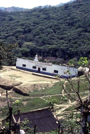 Telesecundaria in Ixcatepec, Hidalgo