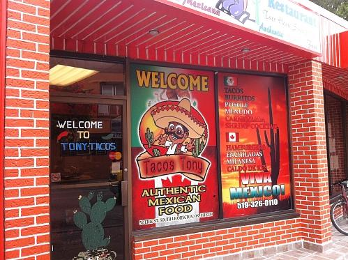Tacos Tony. Photo Steve Cylka