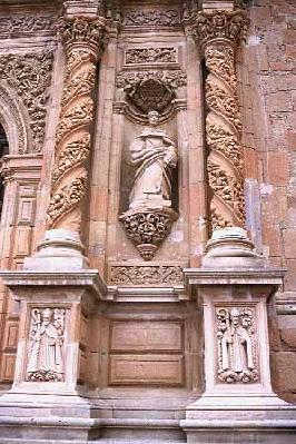 Fine stonework in Sombrerete