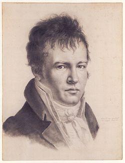 Alexander von Humboldt (Self-portrait c1814)
