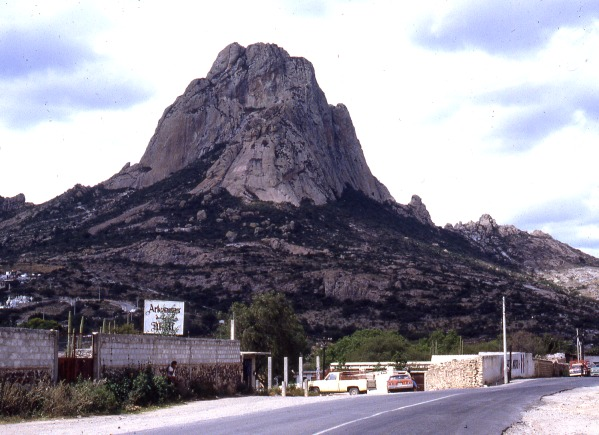 Peña de Bernal. Photo: Tony Burton; all rights reserved