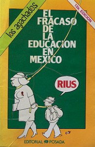 Rius historieta: The failure of education in Mexico