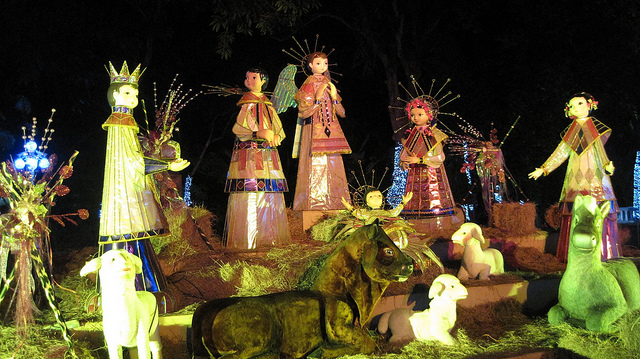 Modern Mexican Nacimiento. Photo: Ariaski (Flickr);