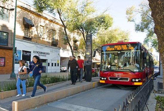 Mexico City Metrobus