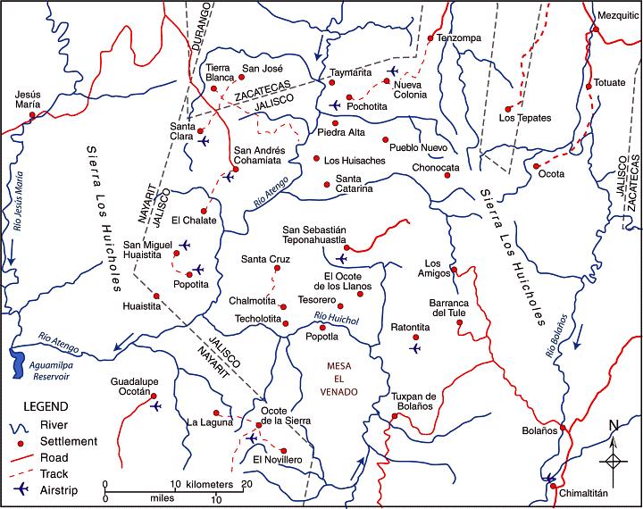 huichol-villages
