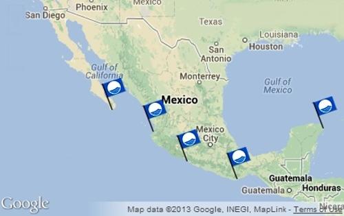 Blue Flag Beaches In Mexico 2017