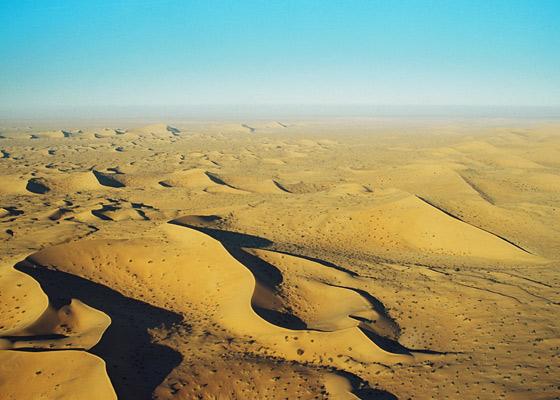 Sand dunes of Gran Desierto de Altar