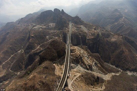 Durango-Mazatlan highway