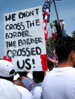 Tohono o'odhum border protest