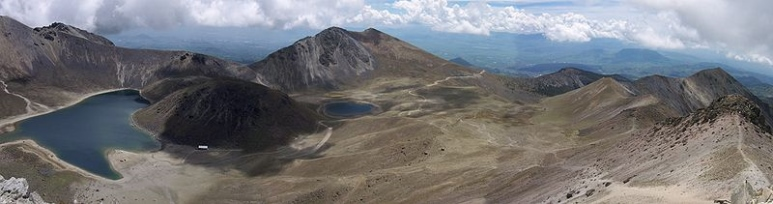 Nevado de Toluca Crater June 1986.