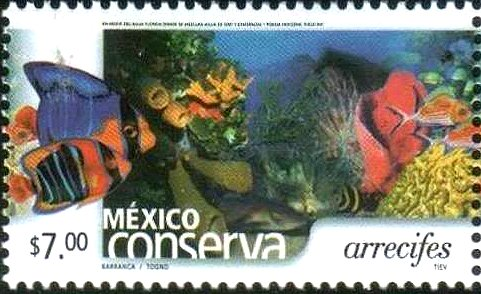 2002 Postage Stamp: reef conservation