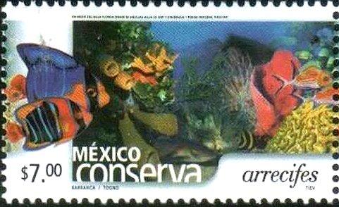 2002 Postage Stamp: reef conservation