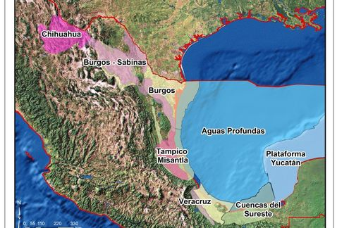 "Map from Pemex ""Round Zero"" document"