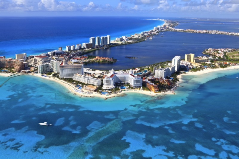 Cancun – Cancun Tourist Attractions Map