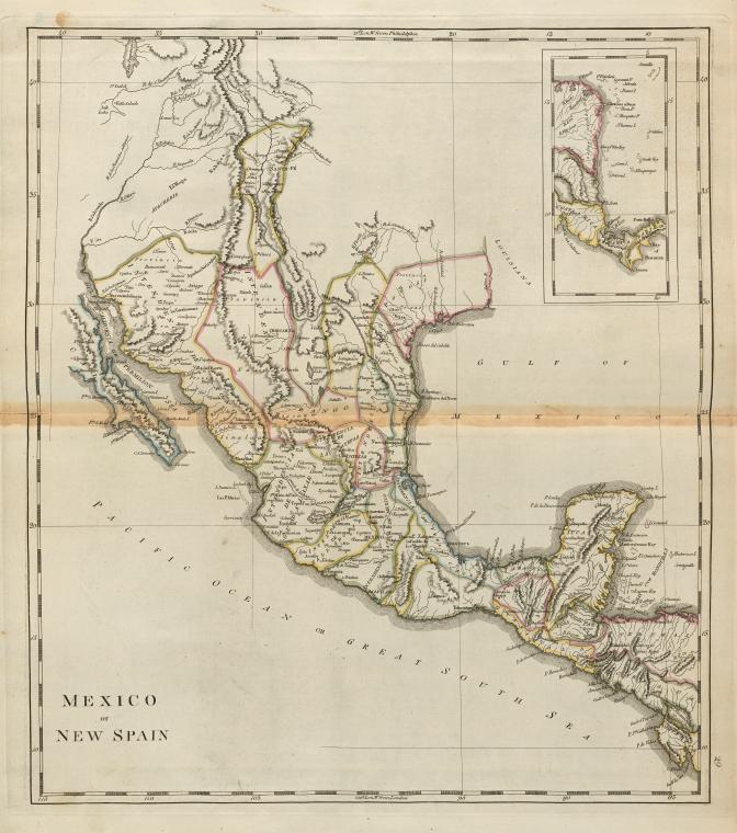 Carey's 1814 map.