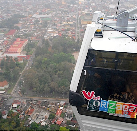 Cable car in Orizaba, Mexico