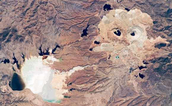 Cananea Mine, Sonora (NASA Earth Observatory, March 2008)