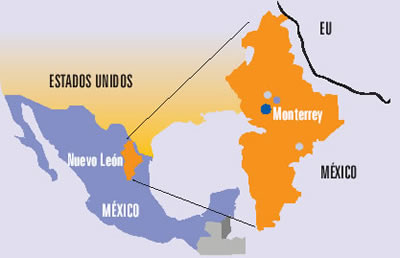 monterrey  GeoMexico the geography of Mexico