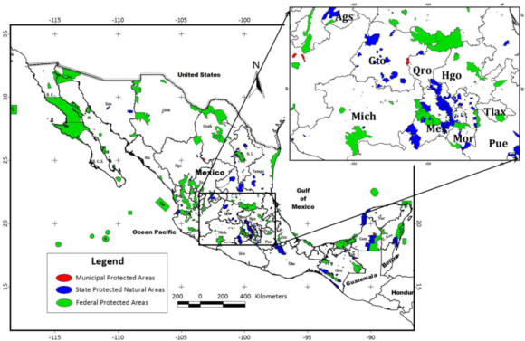 Mexico's Protected Areas (Gallina, 2012)