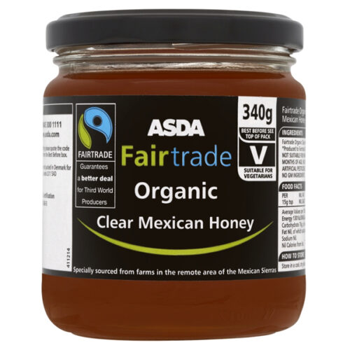 Asda Fair Trade Mexican Honey
