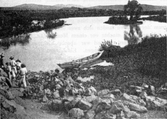 Wilhelm Schiess: Rio Grande, Juanacatlan (December 1899)