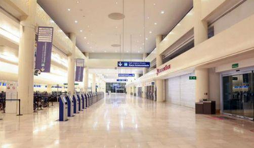 New terminal at Cancun airport