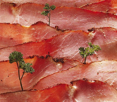 Los Gastronautas: Landscape of ham and parsely